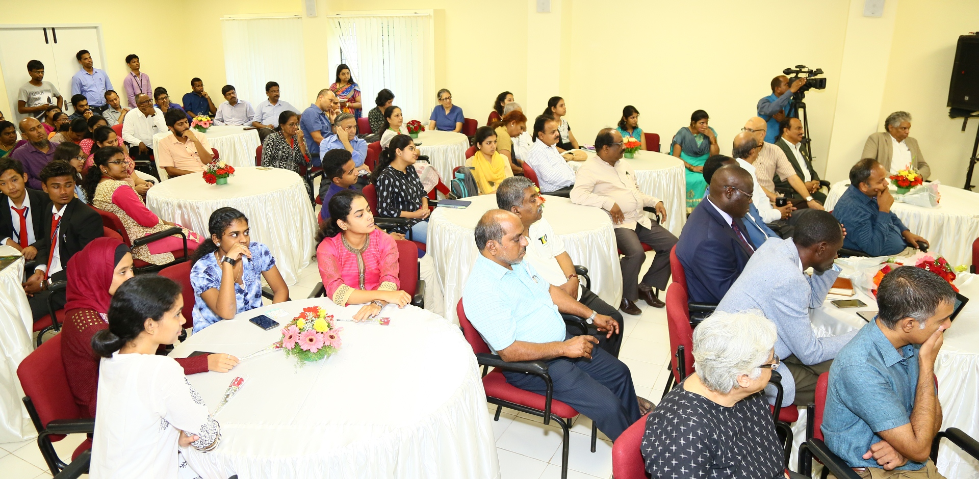 TDU Inaugural Lectures were held on 4th September 2017.